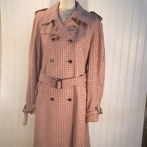 DK NY Long Wool Trench Coat